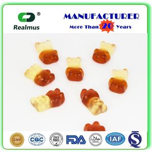 ? Kosher Halal certificate skin firming gummy 3.5g bear shape Gummy candy