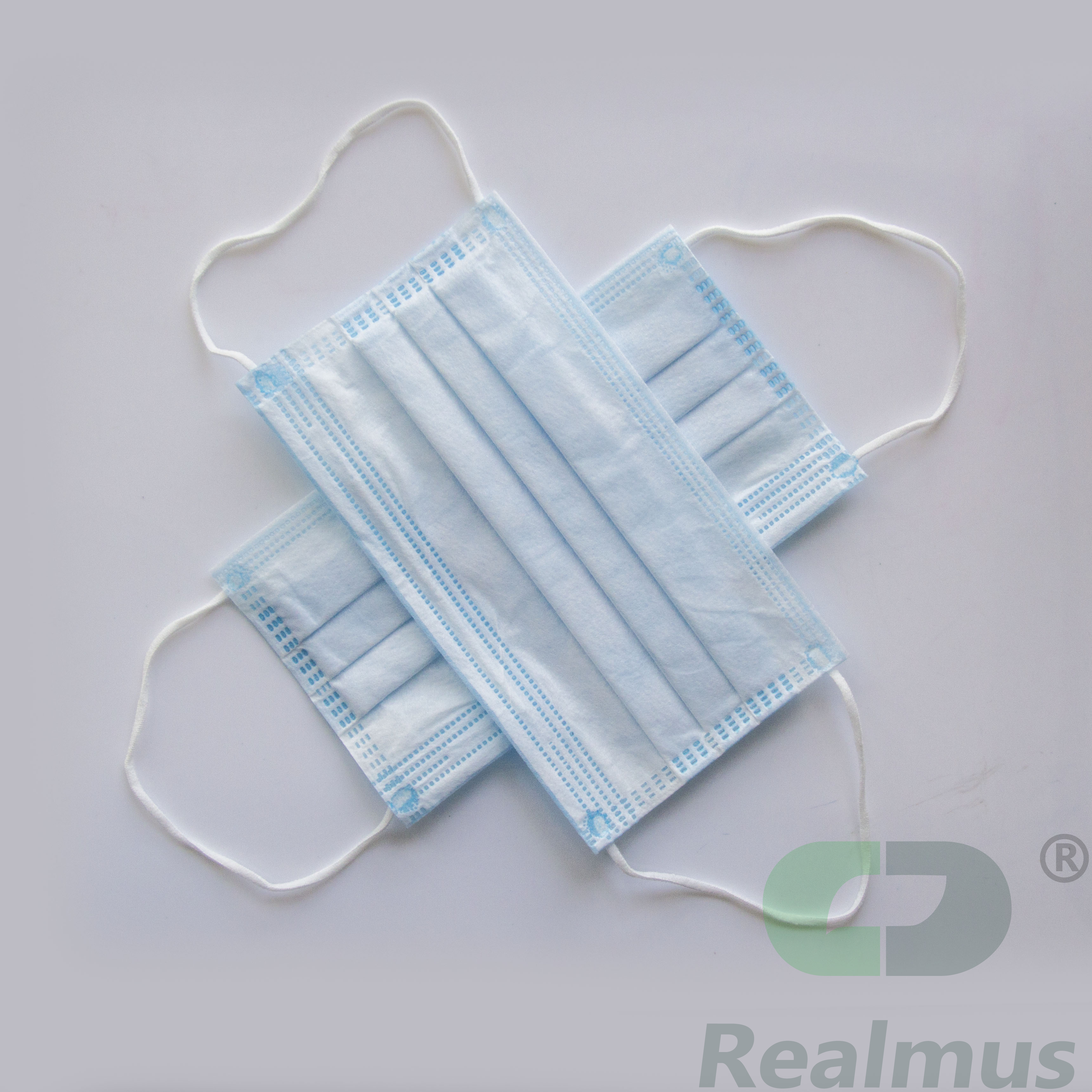 Surgical Antivirus Dust Face Mask 3 Ply Non-woven Disposable Face Mask China Supply